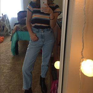 Liz Claiborne Vintage Mom Jeans Petite